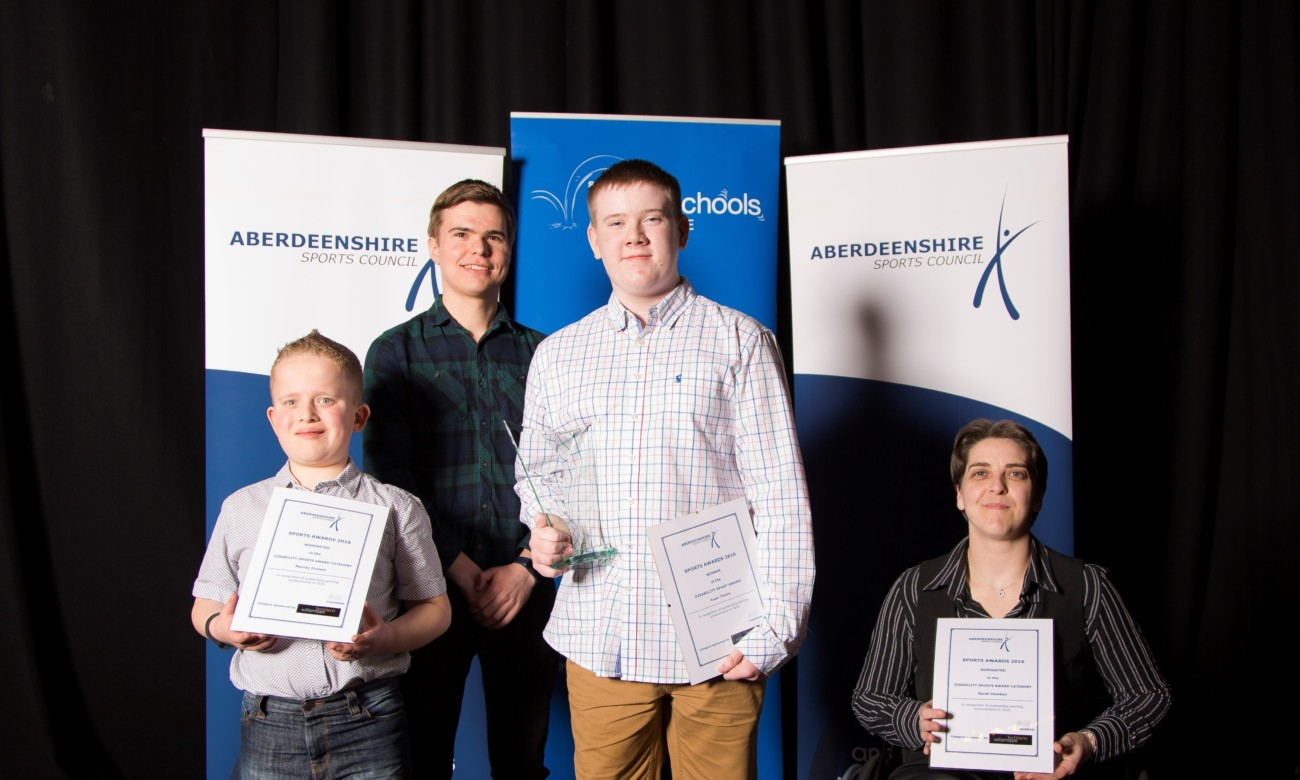 Aberdeenshire Council Sports Awards