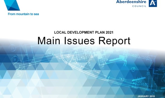 Update on Current Local Development Plan